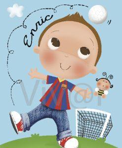Cuadro Futbolista PL