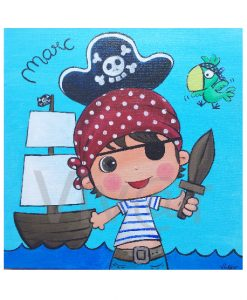 Cuadro Niño Pirata